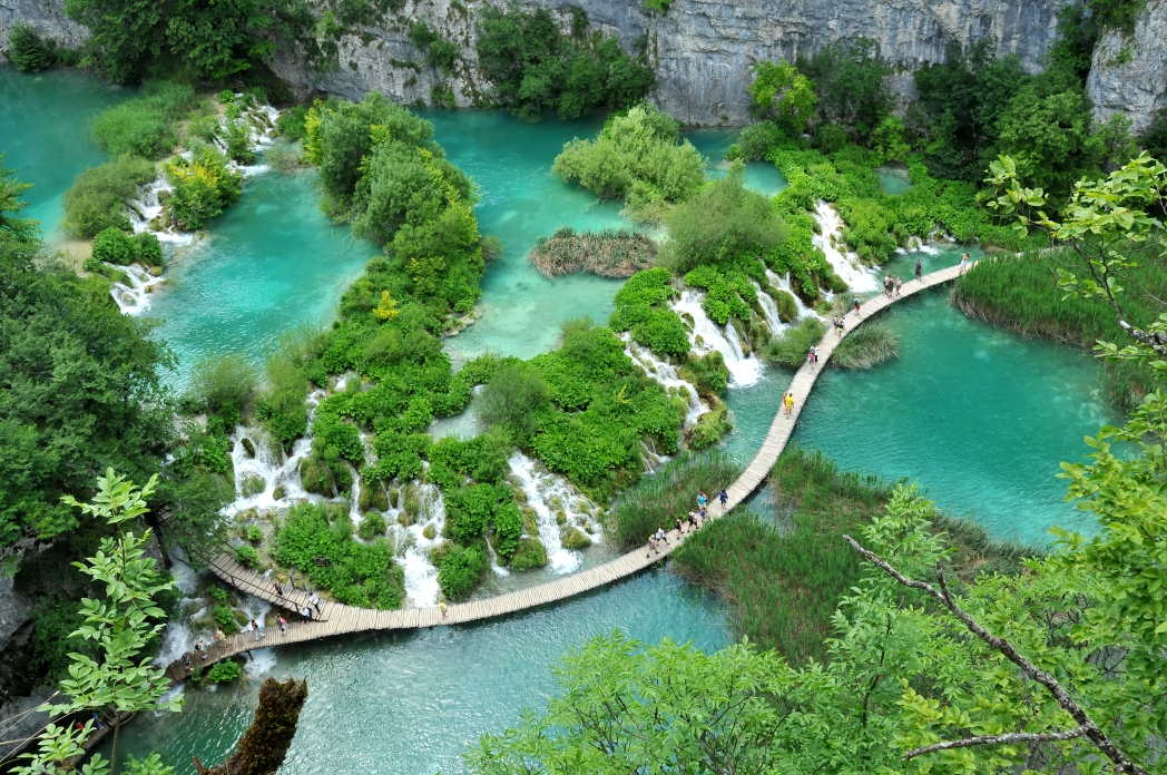 Πανοραμική άποψη Εθνικού Πάρκου Κροατίας