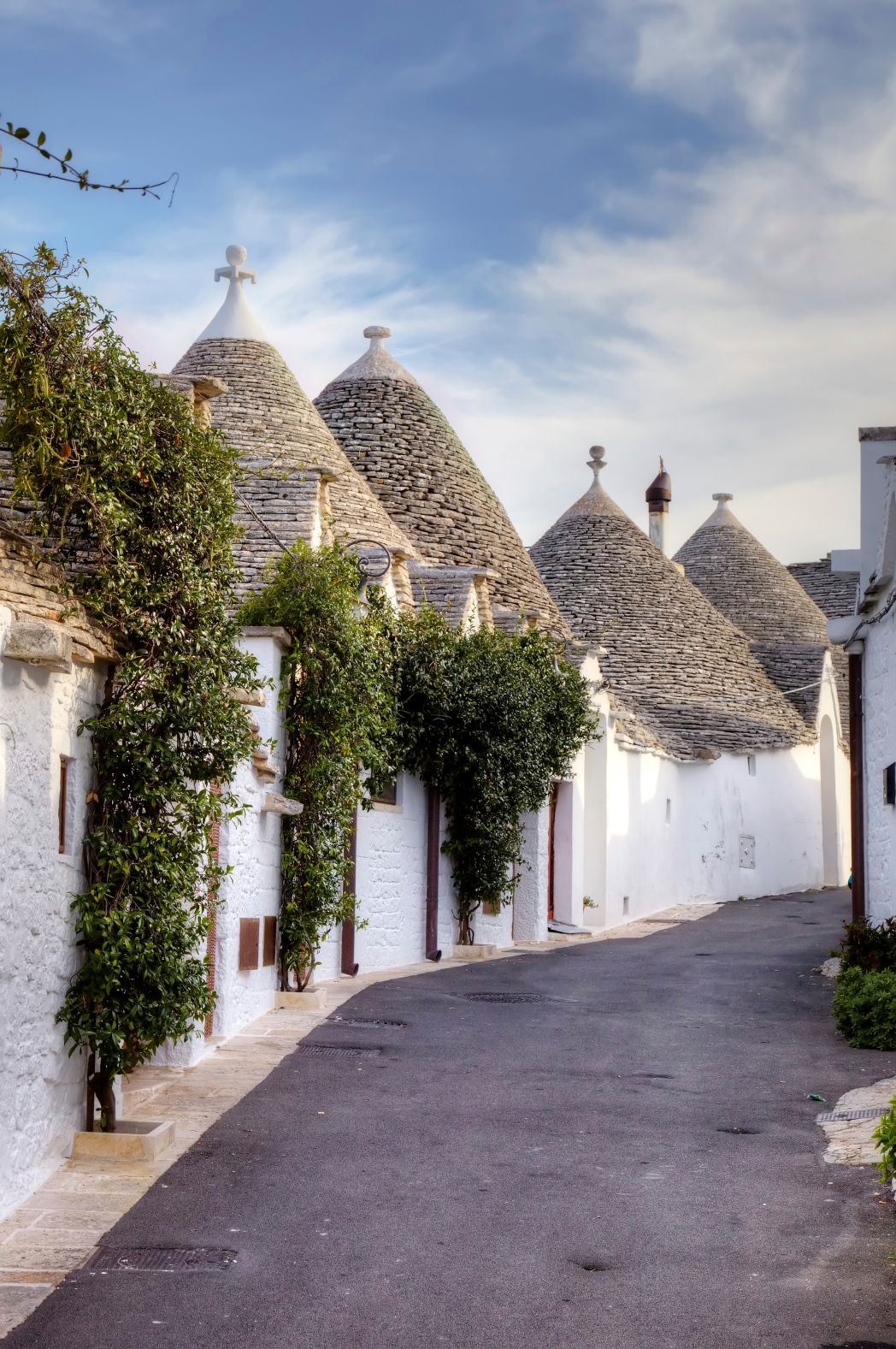 Παραδοσιακά σπίτια του χωριού Alberobello