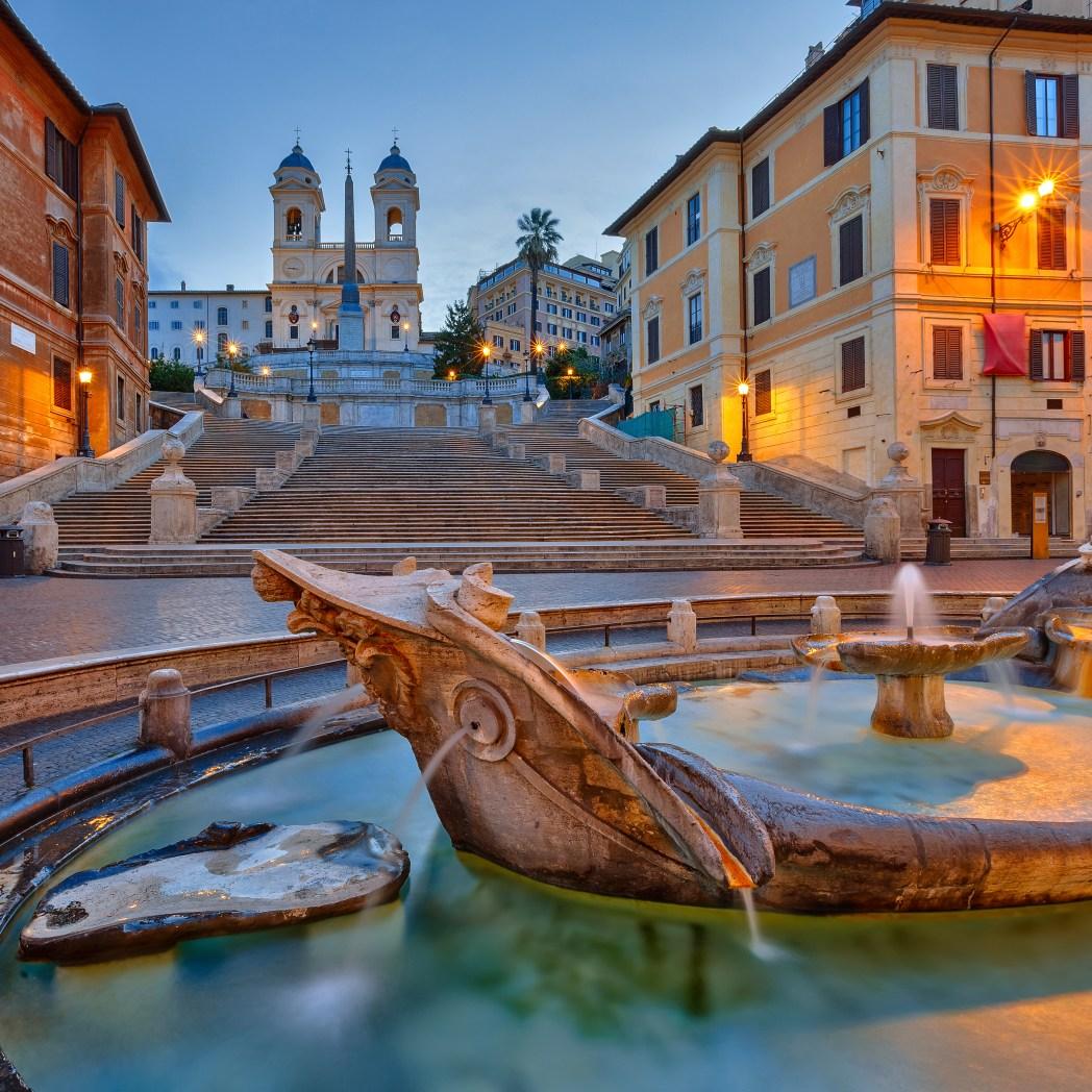 Ισπανικά Σκαλιά, Ρώμη