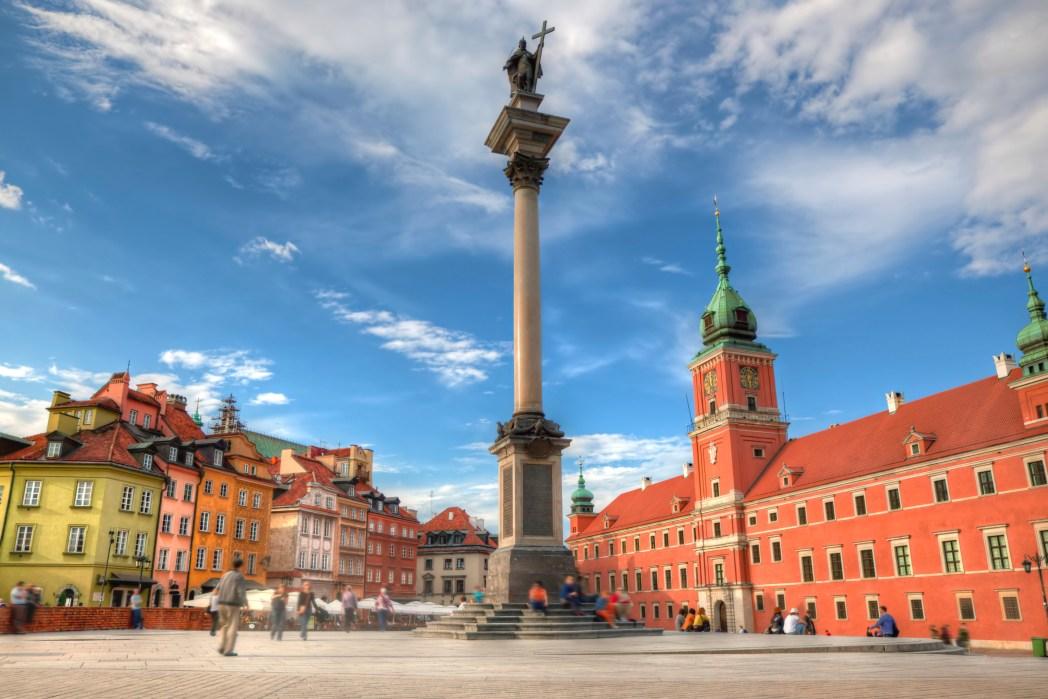 H Πλατεία του Κάστρου στη Βαρσοβία