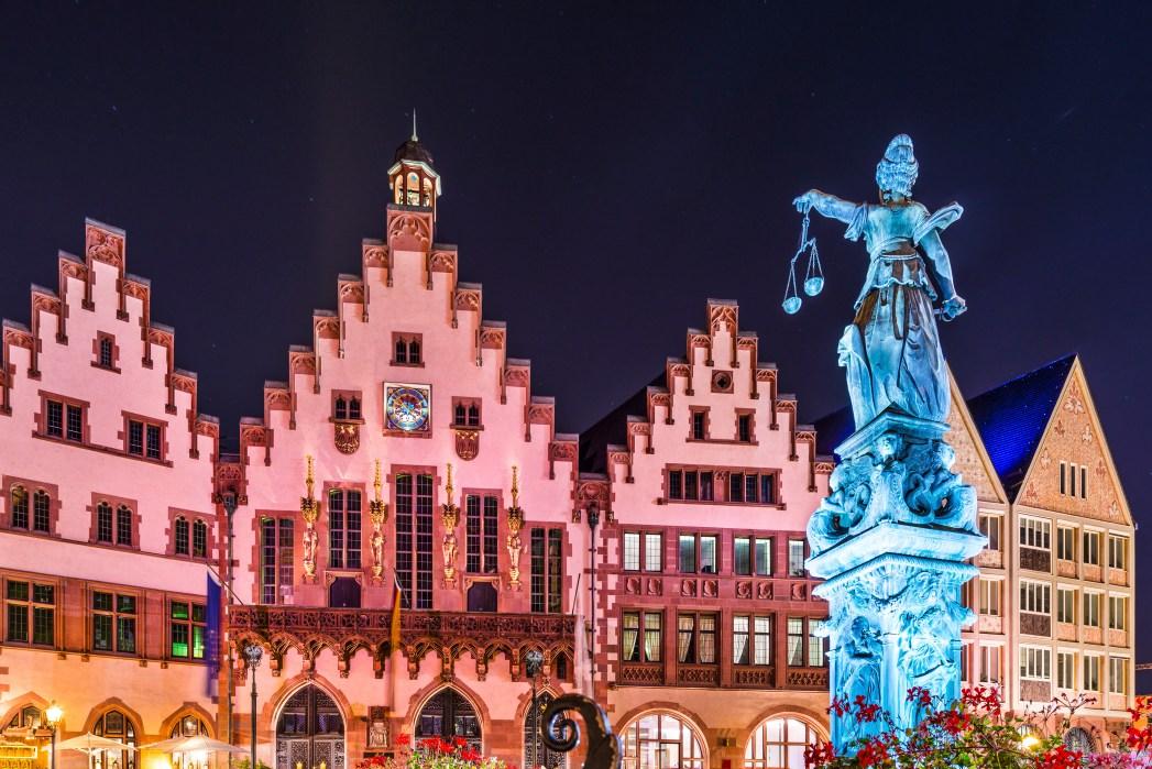 Συντριβάνι της Δικαιοσύνης, Φρανκφούρτη