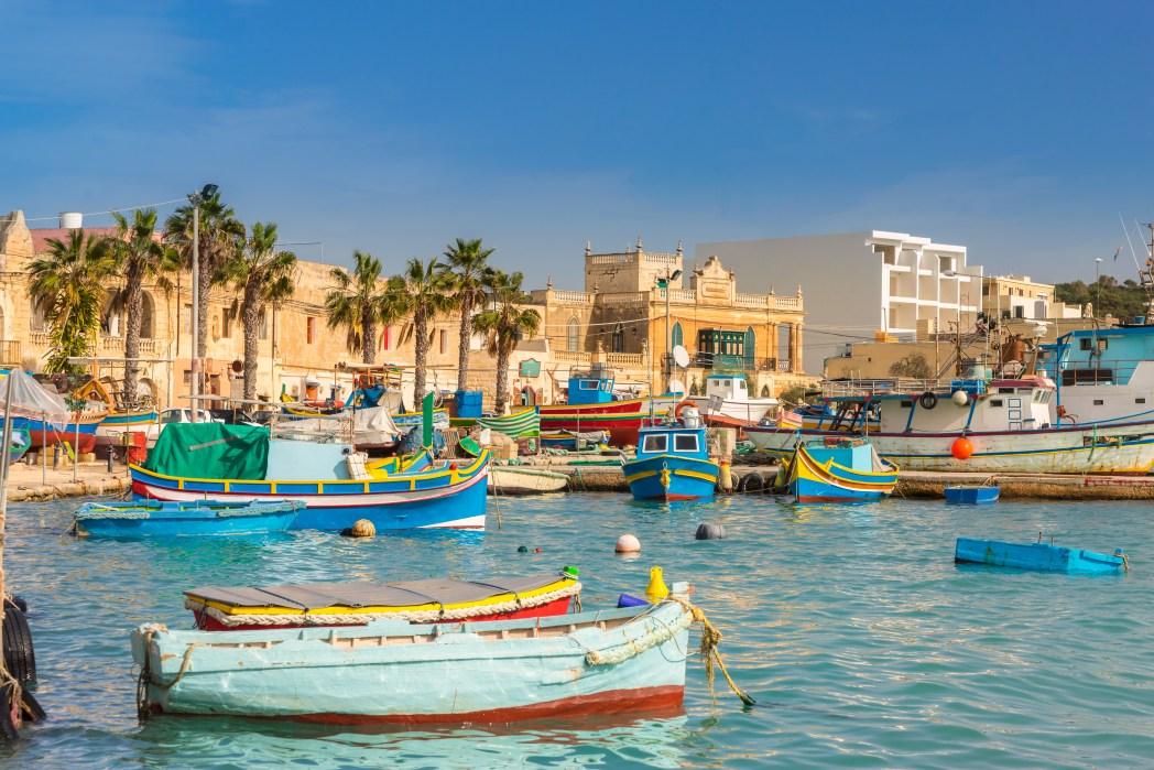 Το λιμάνι της Βαλέτα