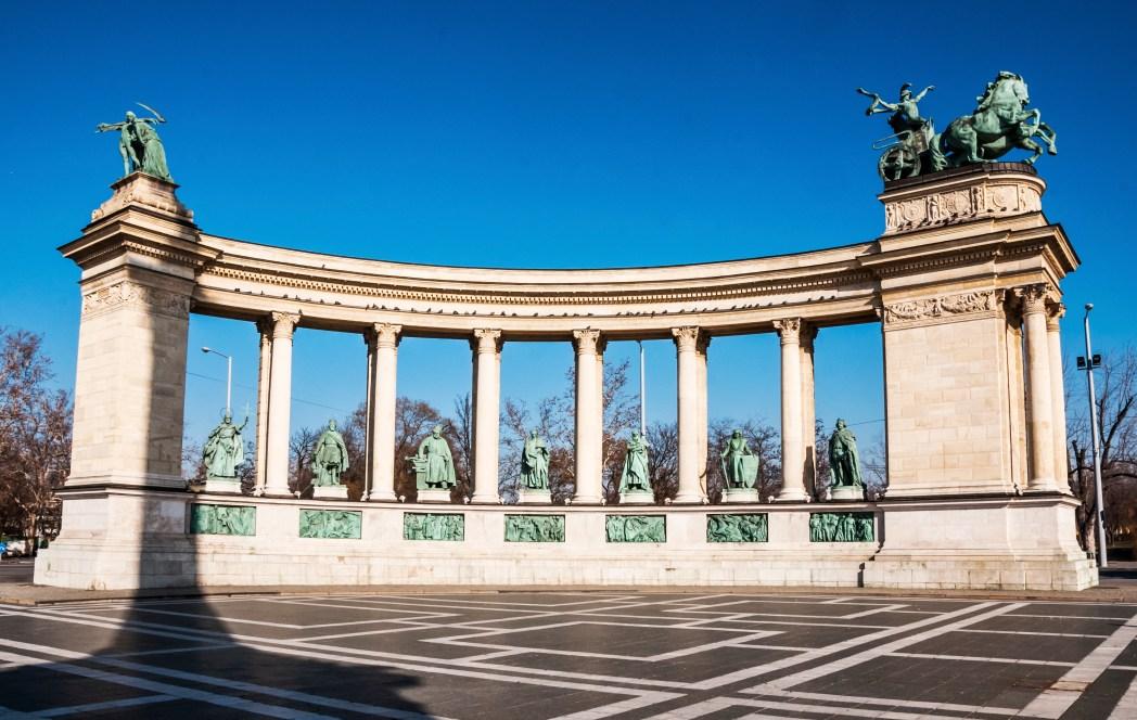 Πλατεία Ηρώων, Βουδαπέστη