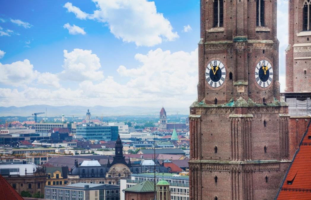 Πανόραμα της πόλης απ' τα καμπαναριά της Frauenkirche