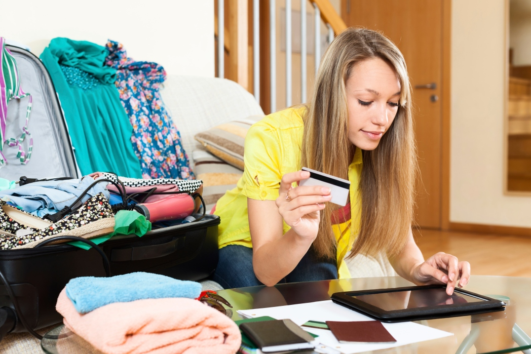 Buying luggage online