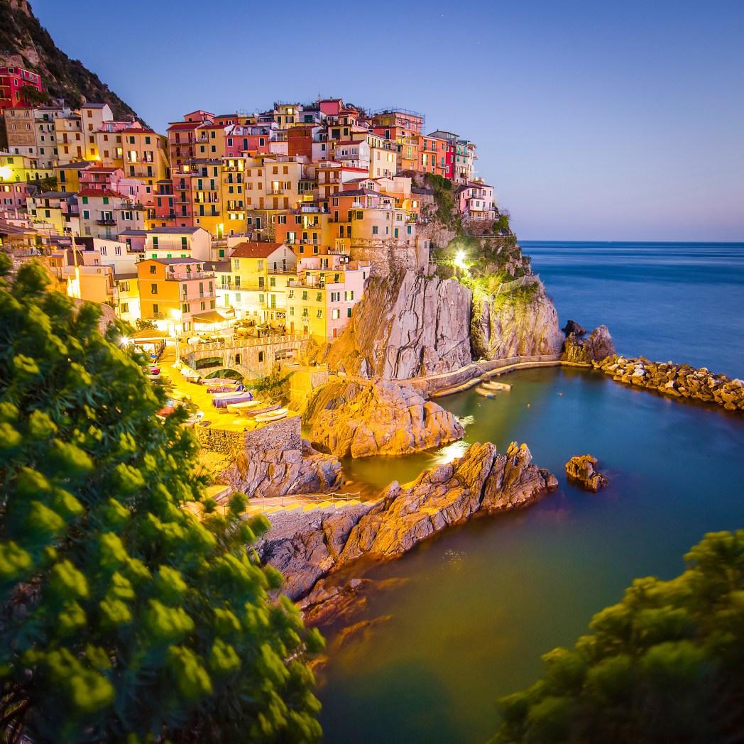 Το παραθαλάσσιο ψαροχώρι Cinque Terre