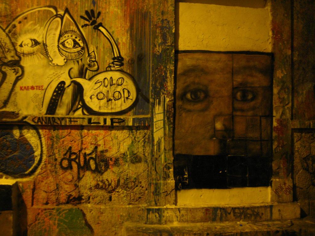 Graffitti στους δρόμους της Αθήνας