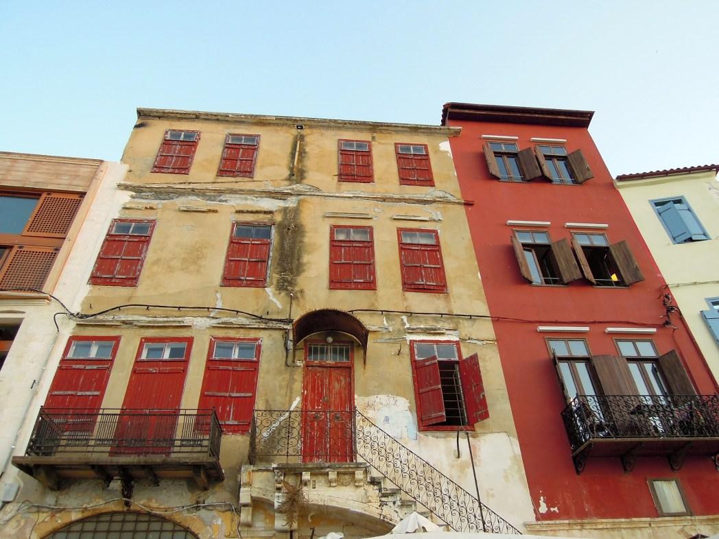 Ιστορικό κτίριο στην Παλιά Πόλη Χανίων