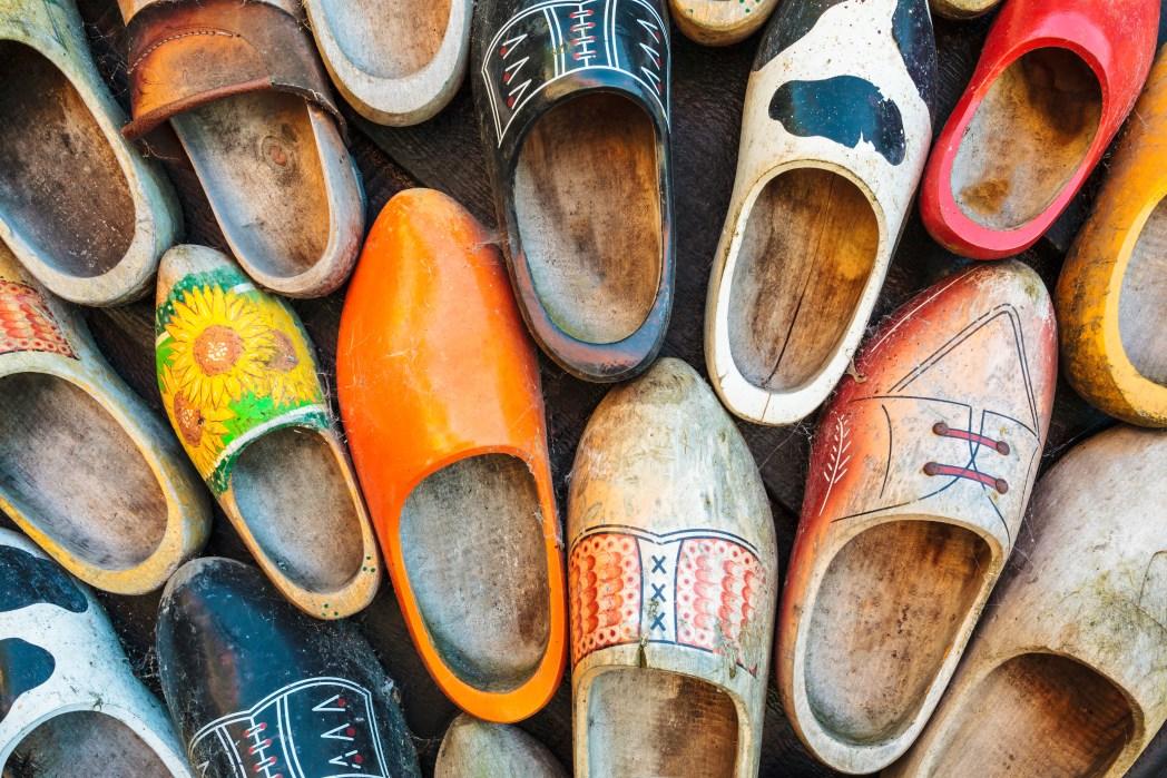 Ξύλινα ολλανδικά παπούτσια
