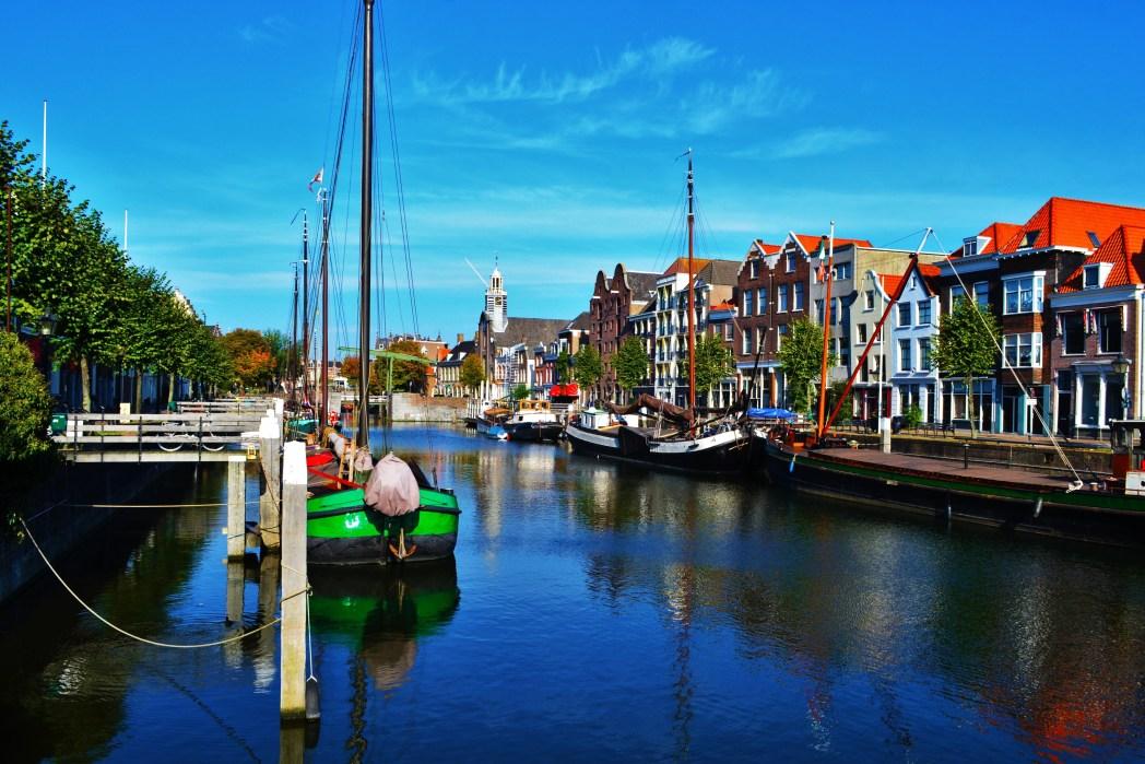 Κανάλι στο Ρότερνταμ