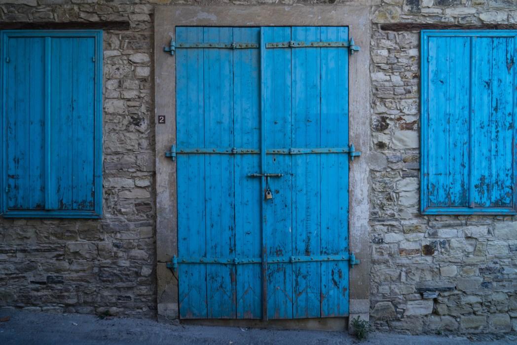 Λεπτομέρεια από το χωριό Λέυκαρα της Κύπρου