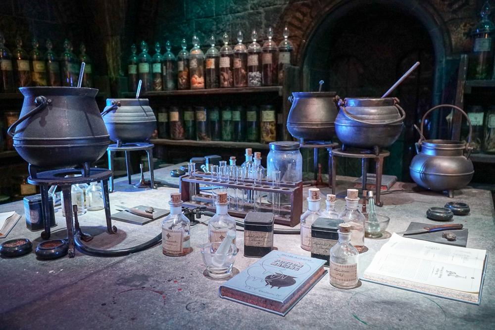 το στούντιο Harry Potter Studio της Warner Bros.