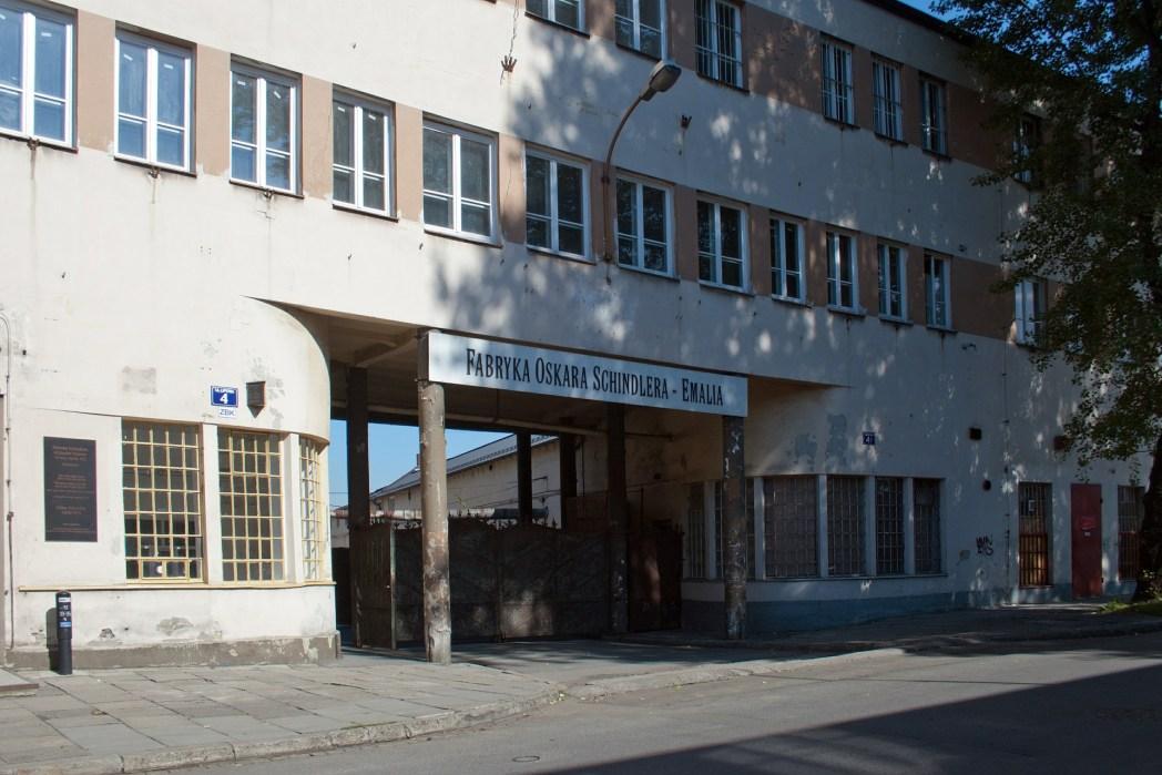 Eξωτερική άποψη του εργοστασίου και μουσείου Σίντλερ