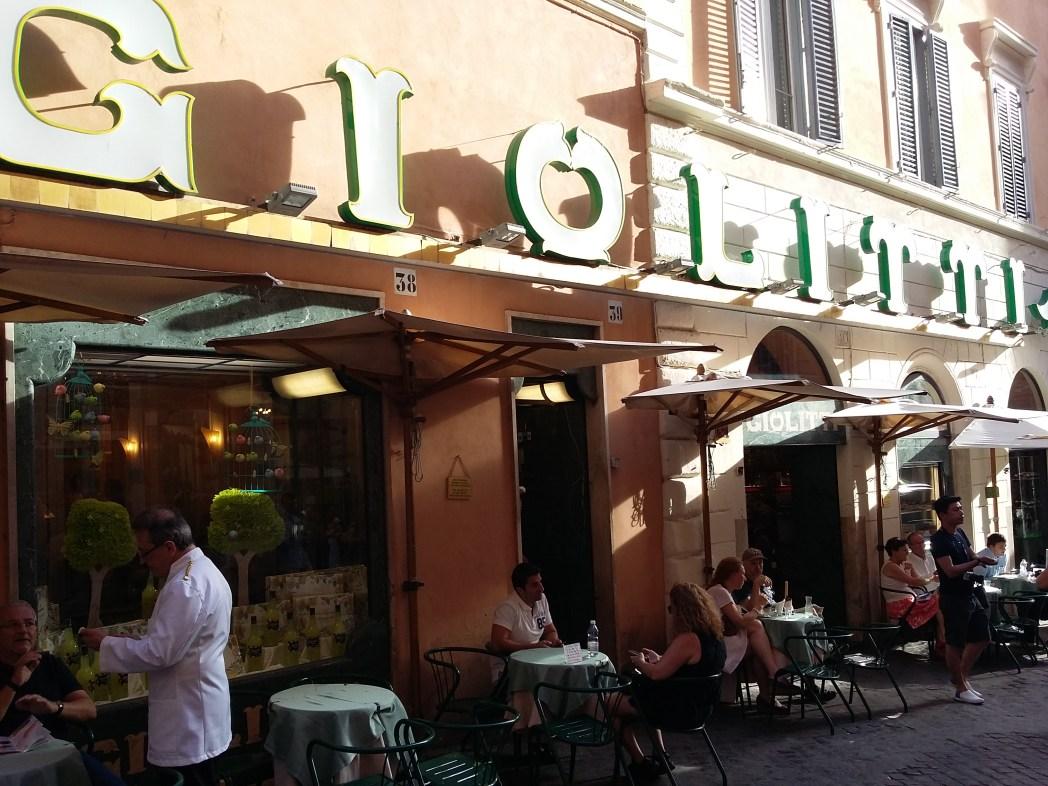 Giolitti, Ρώμη