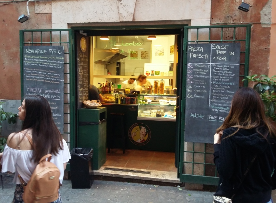 Pasta Imperiale για φρέσκα μακαρόνια στη Ρώμη