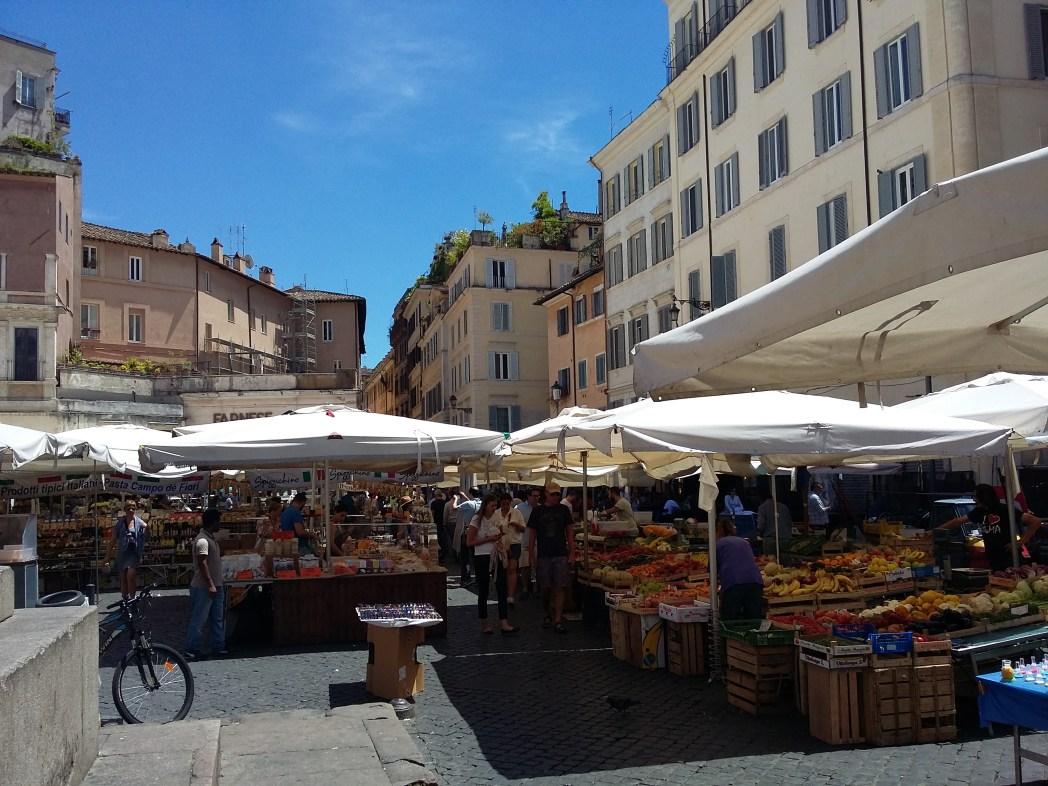 Κάμπο ντι Φιόρι, Ρώμη