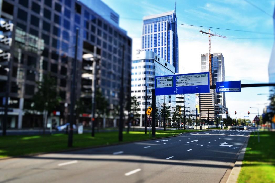 Δρόμος στο Ρότερνταμ