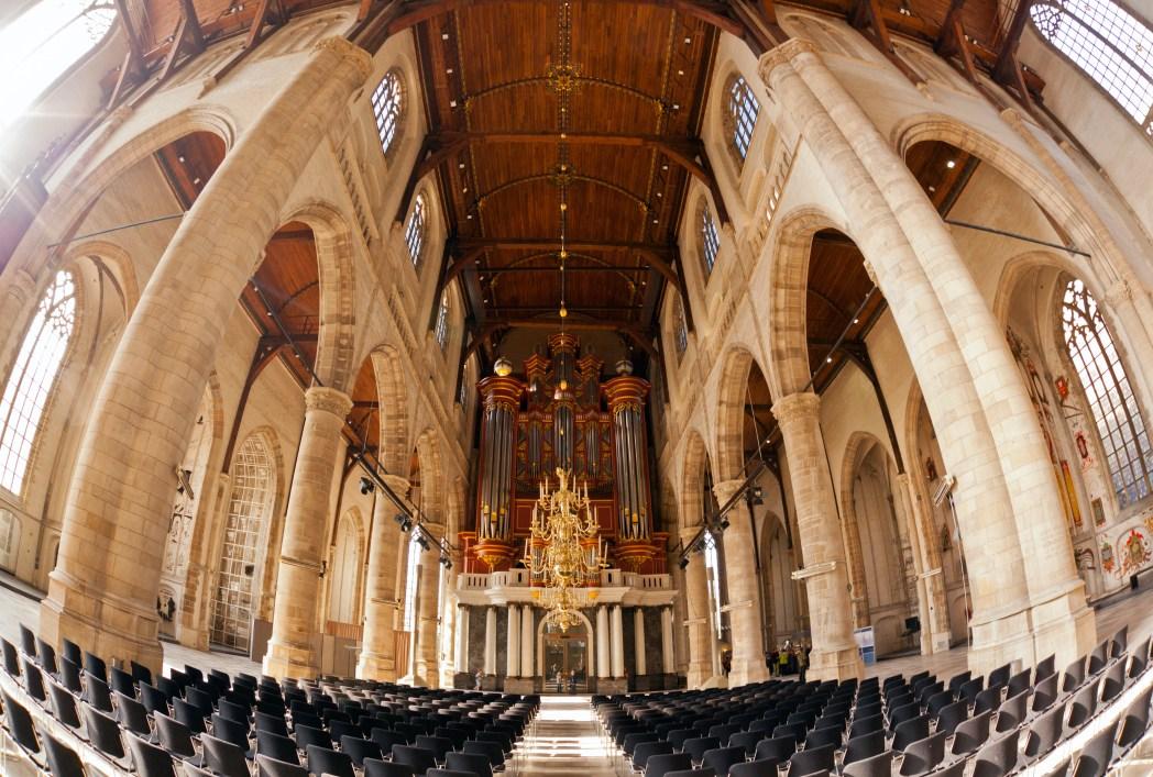 Η μεγάλη εκκλησία του Αγίου Λαυρεντίου-St Laurenskerk)